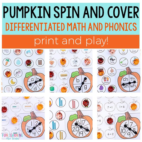 Pumpkin Spin and Cover Bundle