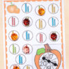 Pumpkin Spin and Cover Teen Numbers Pages