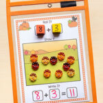 Pumpkin Addition and Subtraction Mats