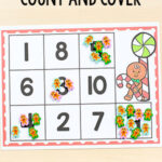Gingerbread Count and Cover Mats