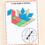 Spin and Cover Thanksgiving Pattern Block Mats