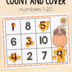 Thanksgiving Turkey Count and Cover Mats