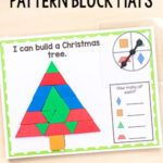 Christmas Pattern Block Mats – Spin and Cover!