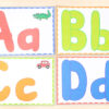 Alphabet play dough mats make learning letters and sounds hands-on and fun!