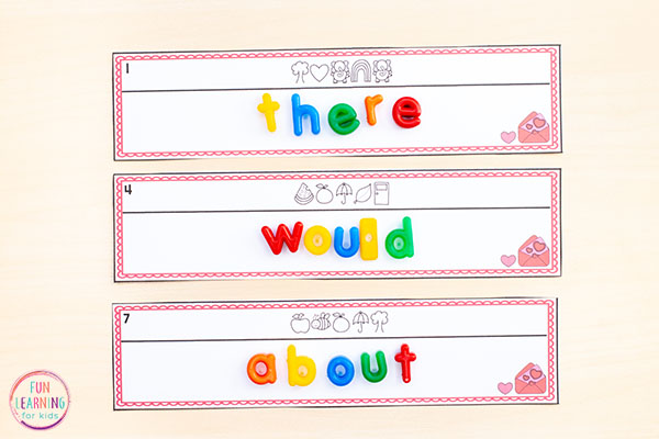 This secret code words activity is such a fun literacy activity to put in your literacy centers.