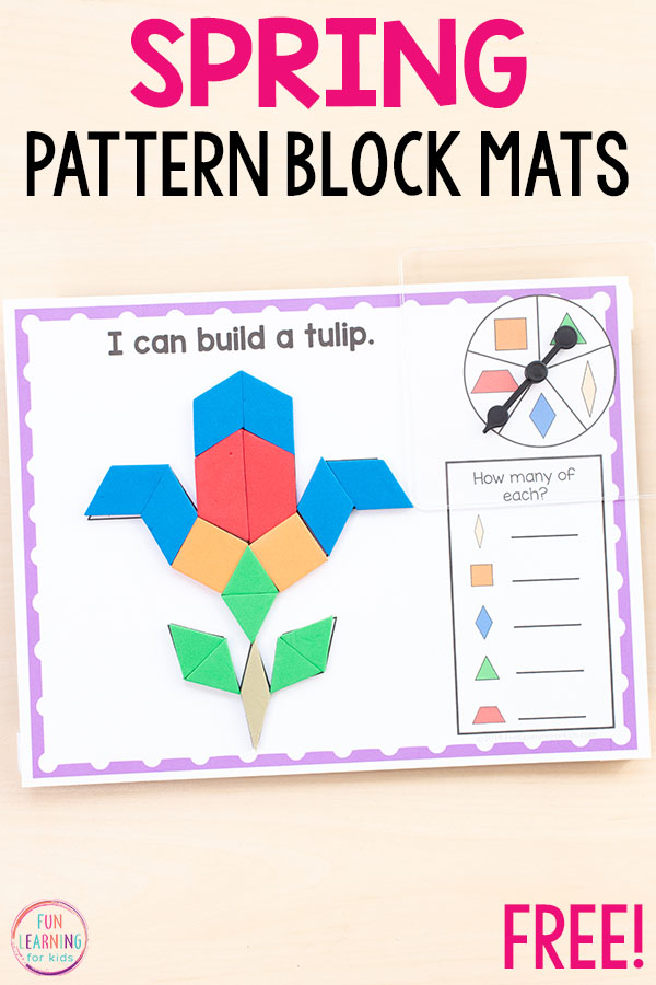 These pattern block activities are make learning shapes and geometry fun and exciting!