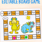 Editable Dragon Board Game
