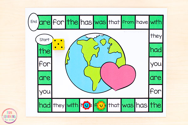 This Earth Day activity is perfect for math and literacy centers this spring.