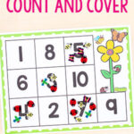 Insect Count and Cover Math Activity