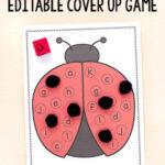Ladybug Cover Up Alphabet Activity