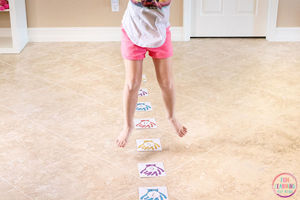 Add some movement to your math lessons with this fun ocean theme math activity.