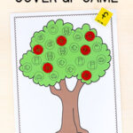 Apple Tree Cover Up Alphabet Activity
