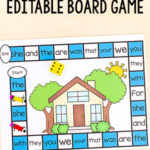 Editable My Home Board Game
