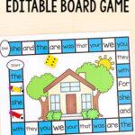 Editable My Home Board Game