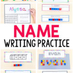 Name Writing Practice Activities and Name Tracing Worksheets