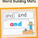 Editable Pumpkin Word Building Activity Mats