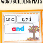 Fall Word Building Mats