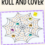 Spider Roll and Cover Math Game