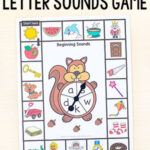 Forest Theme Beginning Sounds Game