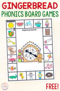 Gingerbread Phonics Games